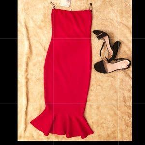 Missguided Women Dress size XXS, Red